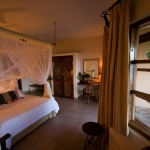 Casa Rex Acacia Room double bedded, Sol Resorts, Vilanculos, Mozambique