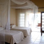 Deacra house bedroom, Sol Resorts, Vilanculos, Mozambique