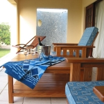 Outside veranda, Deacra house, Sol Resorts, Vilanculos, Mozambique