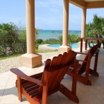 Golden sands pool & ocean view from beach view apartment, Sol Resorts, Vilanculos, Mozambique