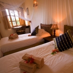 Acacia twin rooms at Casa Rex Boutique Hotel in Vilanculos, Mozambique