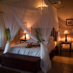 Casa Rex Honeymoon Suite evening, Sol Resorts, Vilanculos, Mozambique