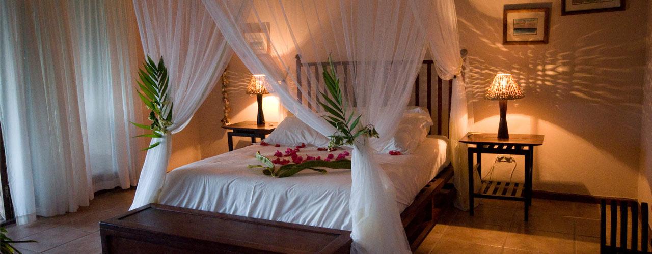 Honeymoon Suite at Casa Rex Boutique Hotel, Vilanculos, Mozambique